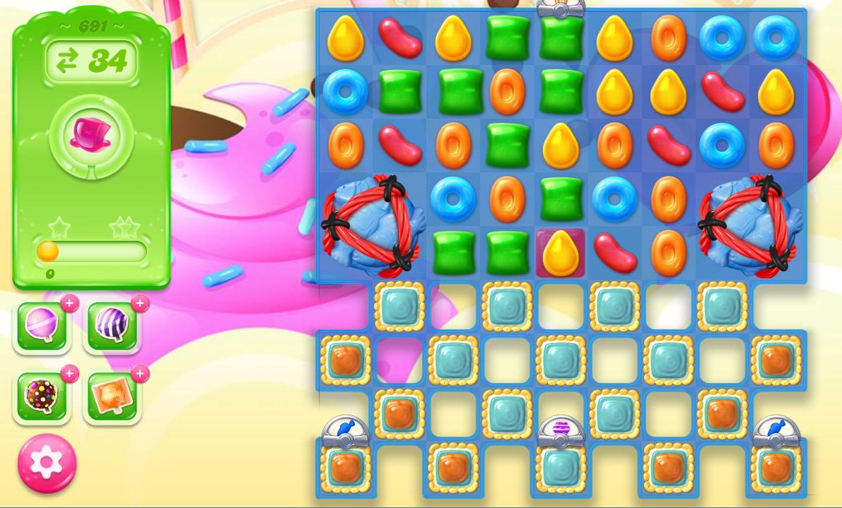 Candy Crush Jelly Saga level 691