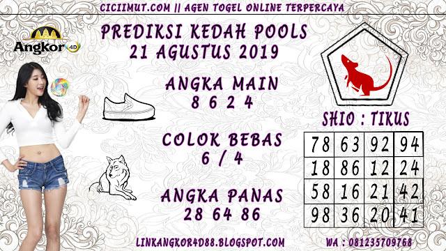 PREDIKSI KEDAH POOLS 21 AGUSTUS 2019
