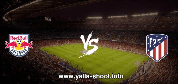 نتيجة مباراة اتلتيكو مدريد وريد بول اليوم الثلاثاء 27-10-2020 يلا شوت الجديد في دوري أبطال أوروبا