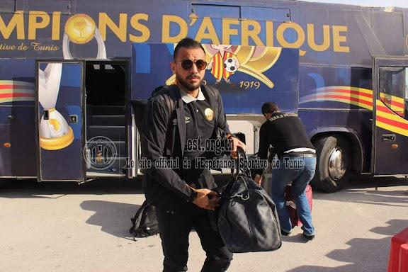الترجي الرياضي التونسي يسافر  إلى الجزائر