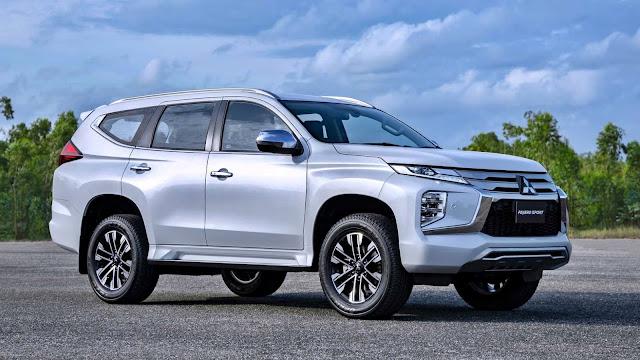 Mitsubishi Pajero Sport 2020 mới nâng cấp nhiều trang bị an toàn