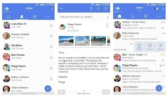 TypeApp Mail  - Aplikasi email android yang ringan dan cepat
