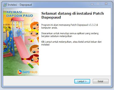 Geveducation:  Cara Install Patch Dapodik PAUD Semester Genap 2018/2019 di Komputer/Laptop