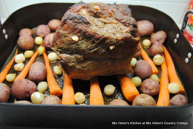 Spicy Pork Pot Roast at Miz Helen's Country Cottage