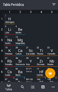app tabla periodica para android