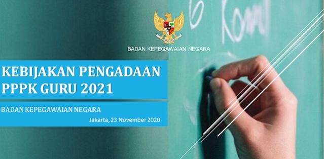 Info Rekrutmen 1 Juta Guru PPPK 2021