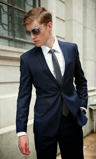 Mens Navy Wedding Suits