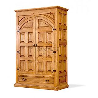 הגלריה המקסיקנית המקום לעיצוב הבית - ארון עץ, בעל שתי דלות + מגירת אחסון תחתונה. ארון דקורטיבי עשוי עץ אורן איכותי לשמירה לאורך זמן