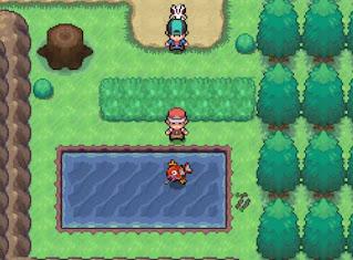 Pokemon Ozone para Android Evento Bosque Pescador Caña Vieja