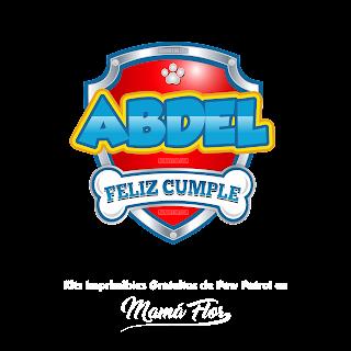 Logo de Paw Patrol: Abdel