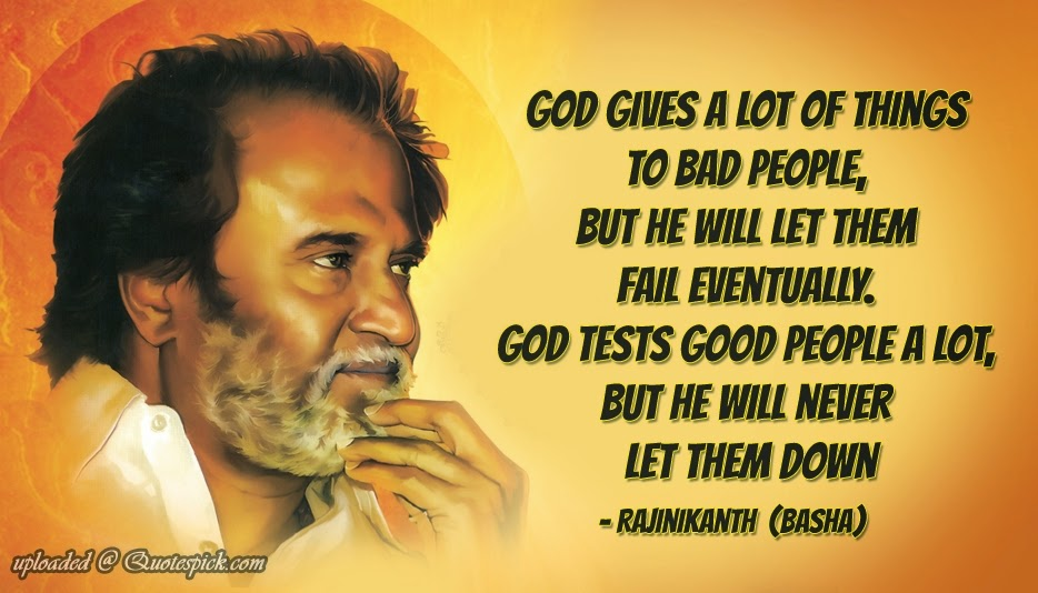 Superstar Rajinikanth Super Star S Famous Quotes Dedicated To
