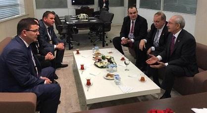 HÖH heyeti CHP lideri Kemal Kılıçdaroğlu ile görüştü