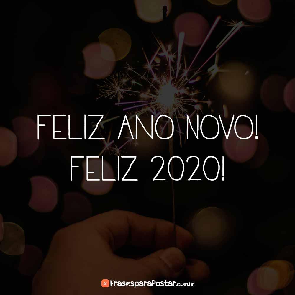 Feliz Ano Novo Feliz 2020 Frases Para Postar