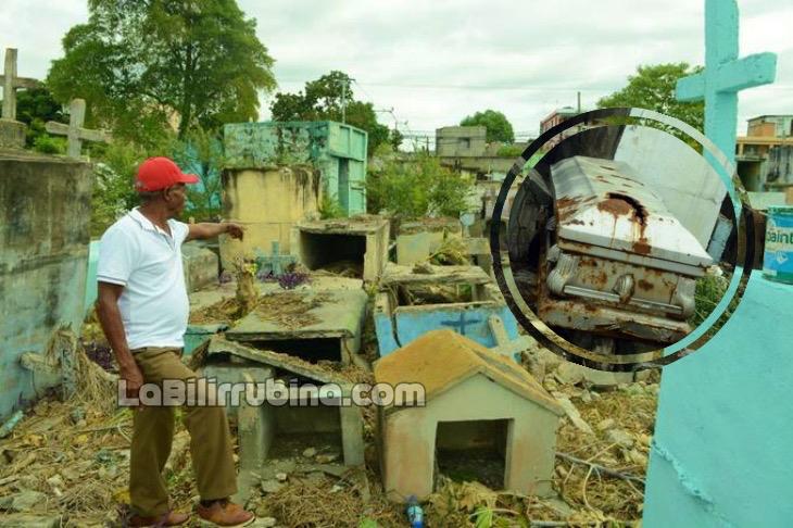 Casos espeluznantes de profanación de tumbas en RD