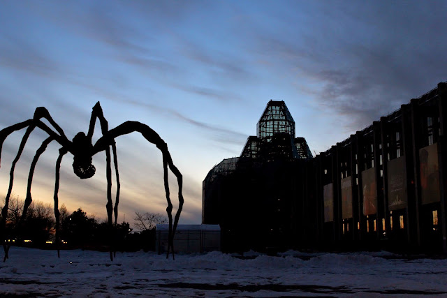 """Maman"" presides over the Great Hall, National Gallery of Canada, Ottawa"