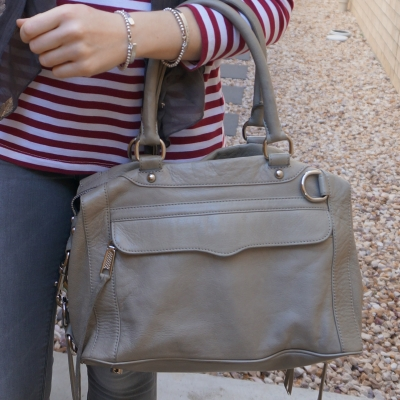 Rebecca Minkoff MAB mini in soft grey | awayfromtheblue