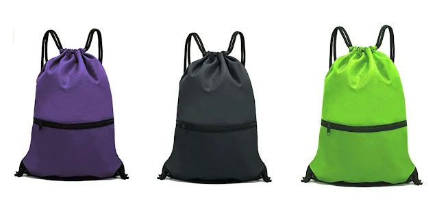 HOLYLUCK Drawstring Backpack Bag Sports review