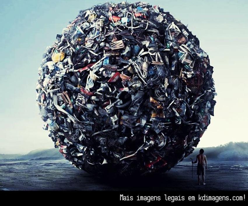 O lixo que carregamos para cima e para baixo