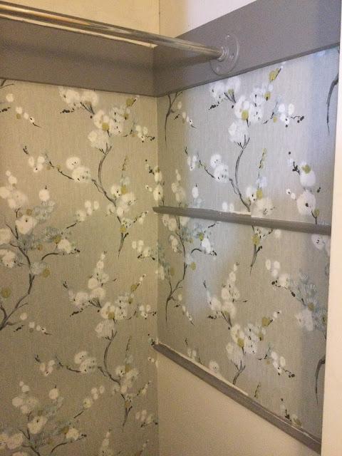 progress in wallpapering