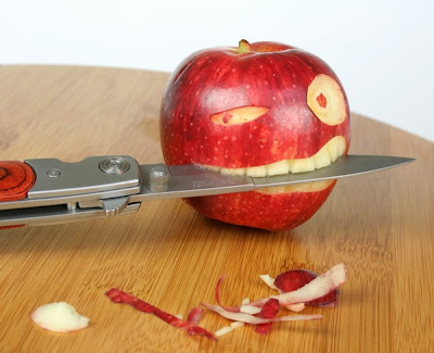 Funny Food Pictures Killer Apple