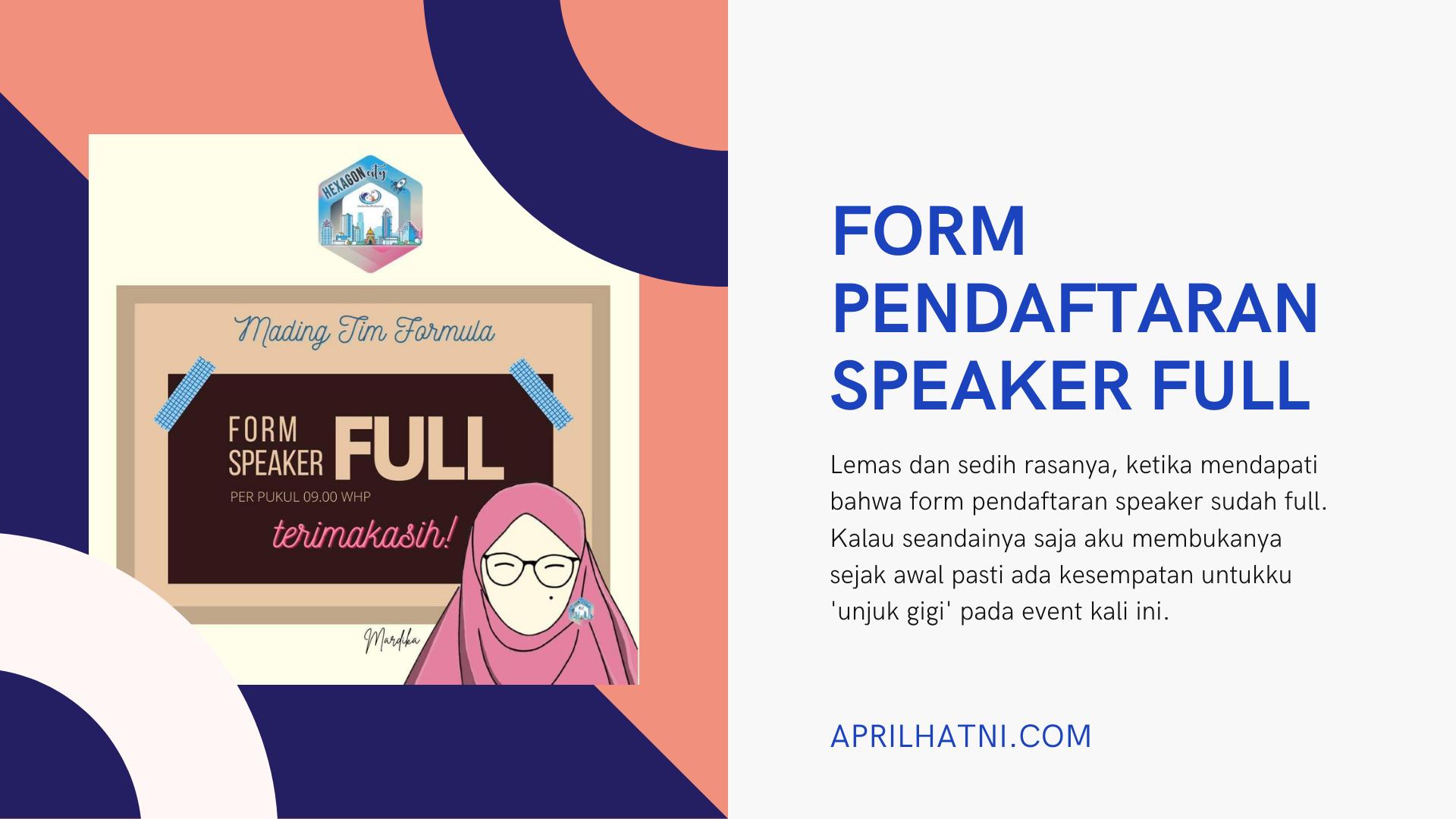 form pendaftaran speaker