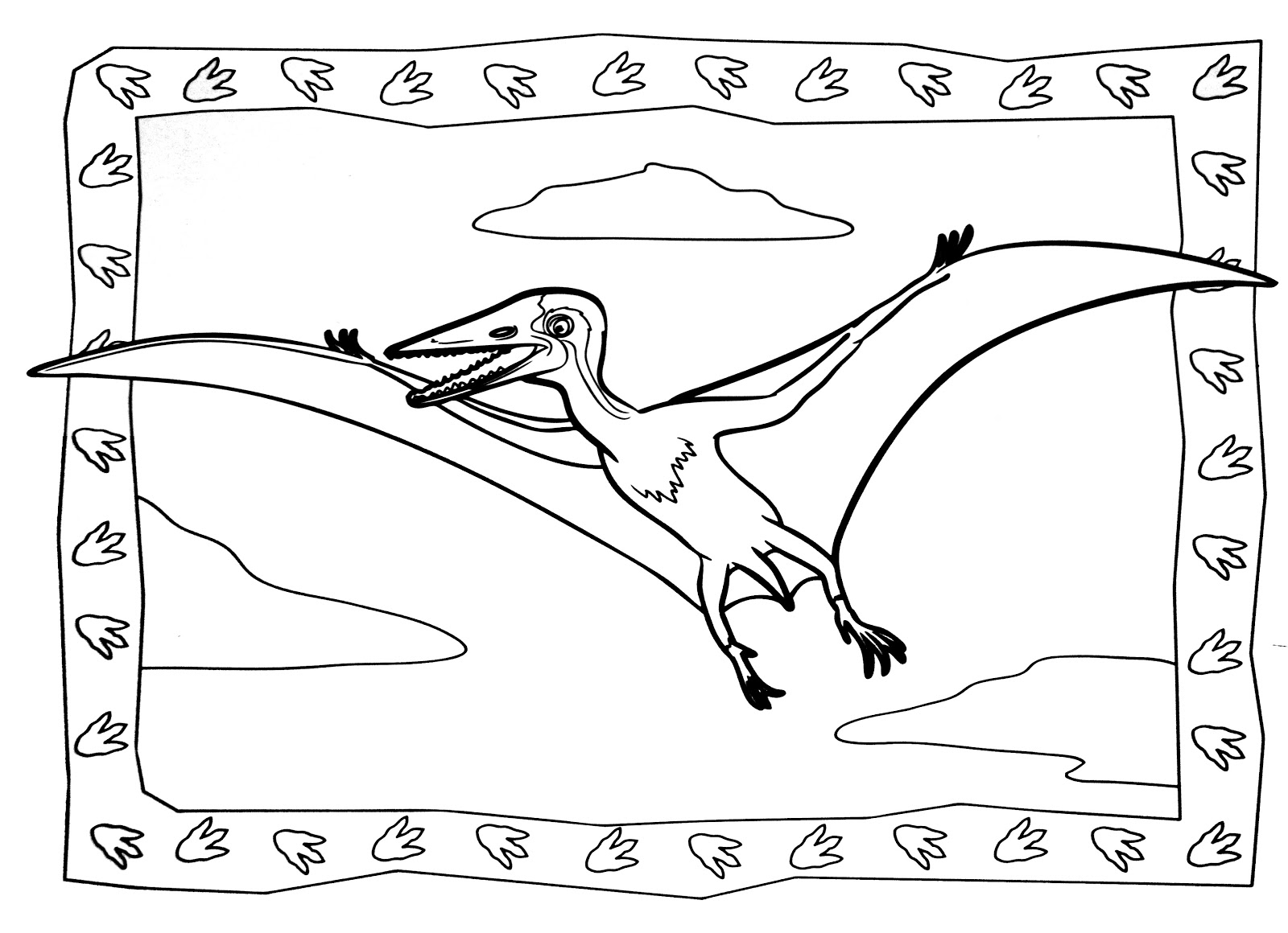 Dinosaurs coloring pages 41