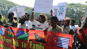 Mahasiswa Papua Malang;  Kami Tau Kami Tamu
