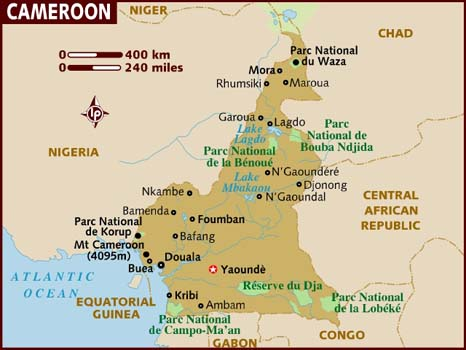 Cameroon Facts In Hindi