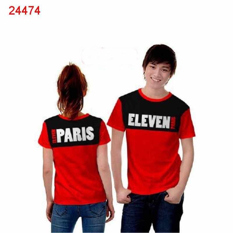 Jual Baju Couple Paris Eleven - 24474