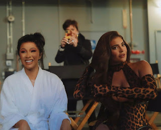 Cardi B defended Kylie Jenner for her cameo in WAP music video cameo