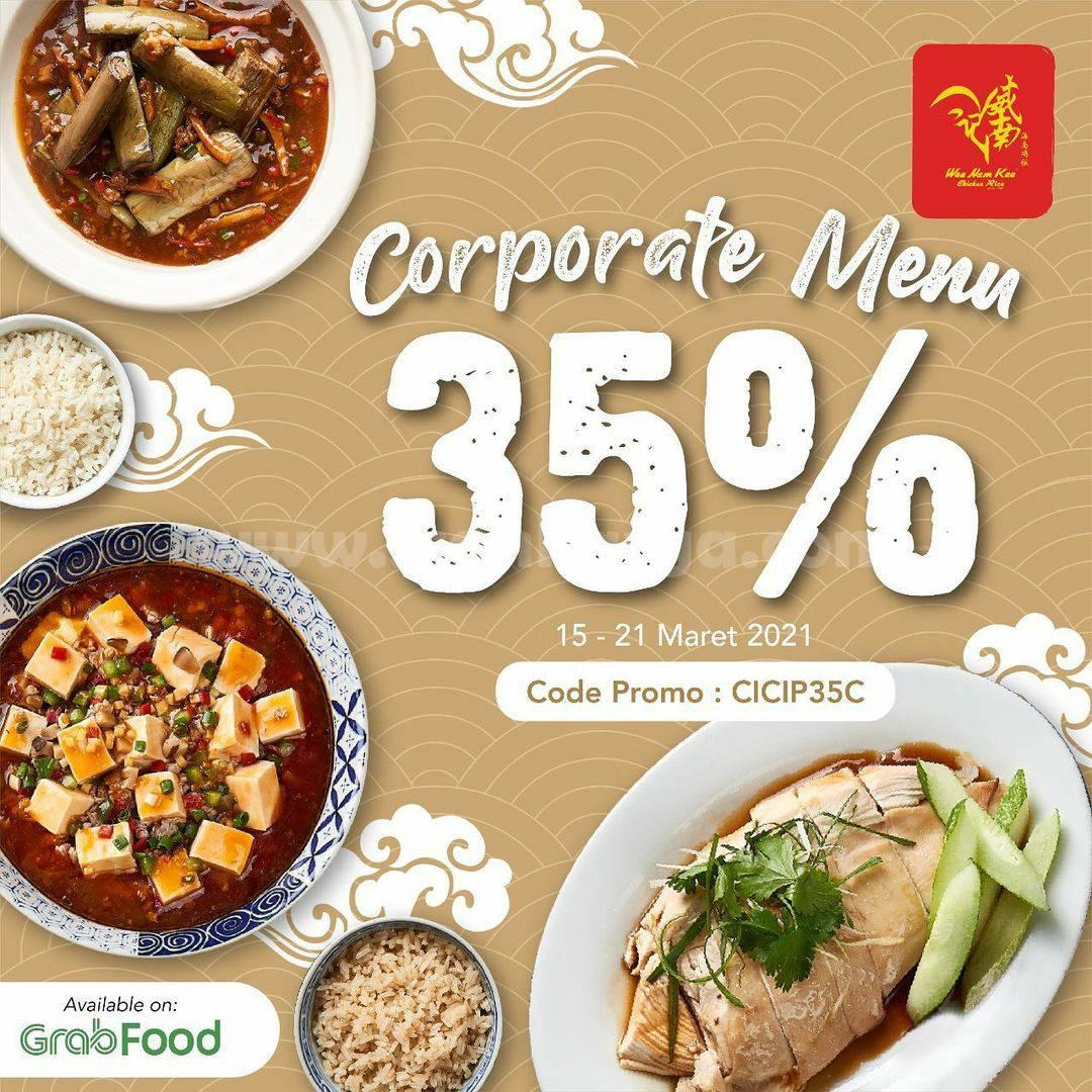 WEE NAM KEE Promo Corporate Menu + Diskon Kilat hingga 50% Via GRABFOOD
