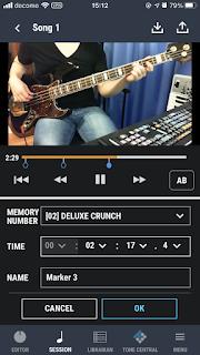 スマートフォンで BOSS Tone を使用するためには細かい操作が必要