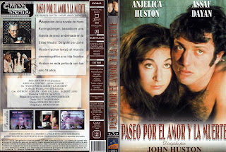 Carátula: Paseo por el amor y la muerte (1969) A Walk with Love and Death