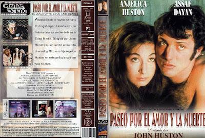 Carátula: Paseo por el amor y la muerte (1969) A Walk with Love and Death