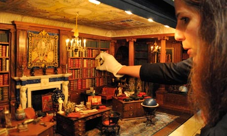 A Book From Queen Mary S Dolls House Library Grows Up