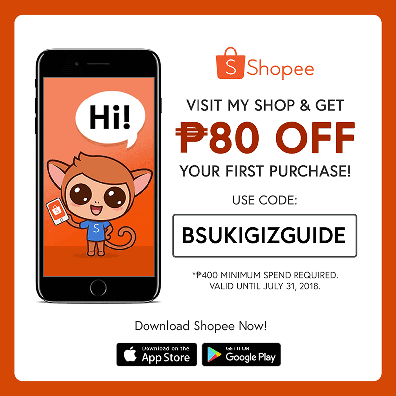 GIZGUIDE's Shopee code