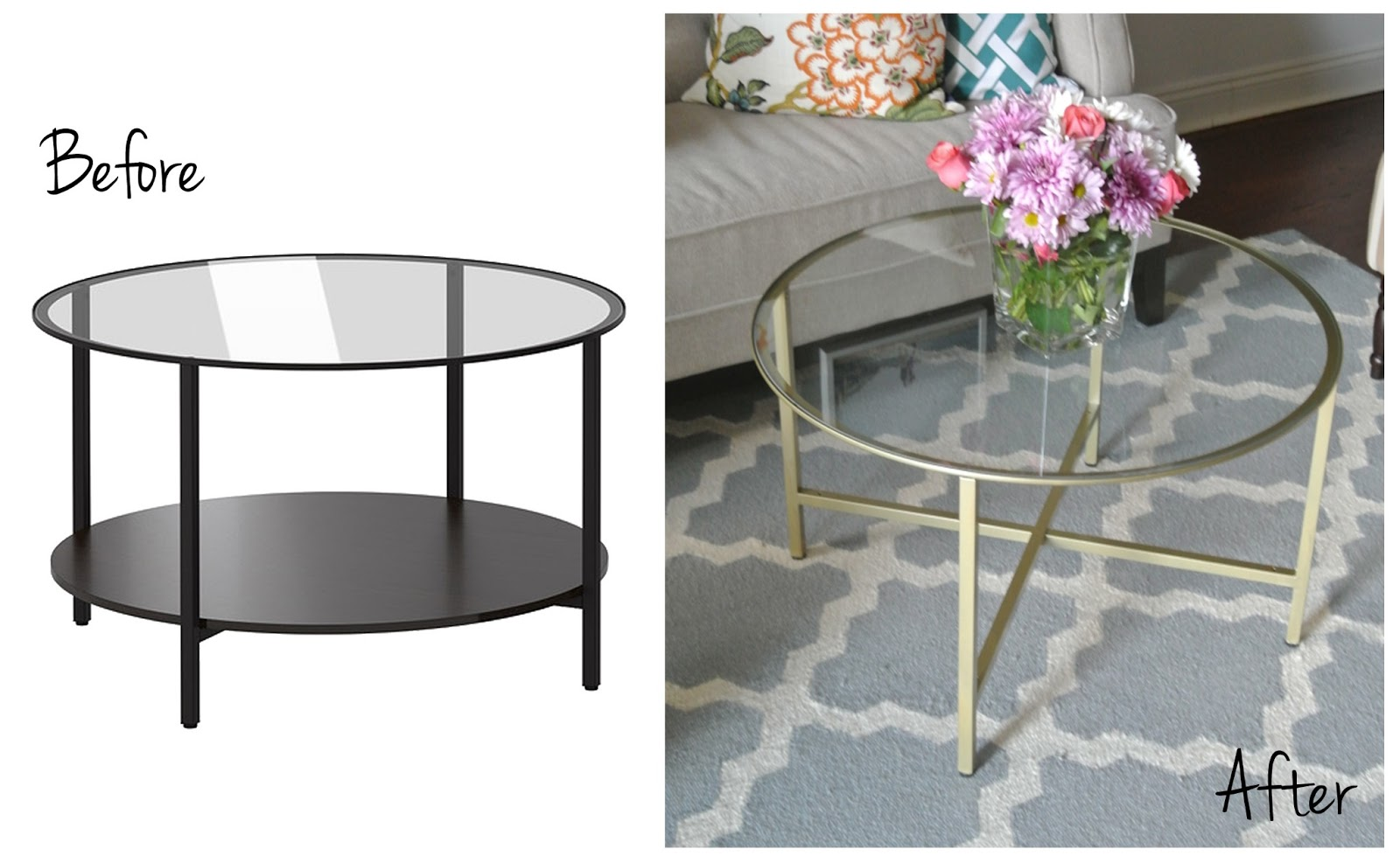 Ikea Vittsjo Coffee Table Olive Lane: Ikea Vittsjo Shelving Unit Hack (sort Of)