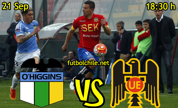 Ver stream hd youtube facebook movil android ios iphone table ipad windows mac linux resultado en vivo, online: O'Higgins vs Unión Española,