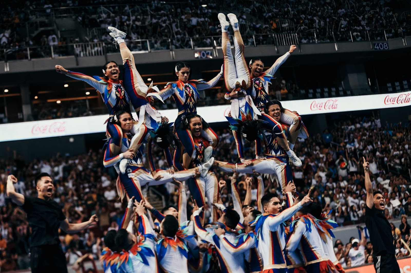 NU Pep Squad has Pinoy Pride written all over their UAAP CDC 2019 routine