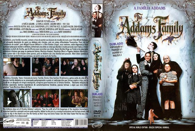 Capa DVD A Família Addams