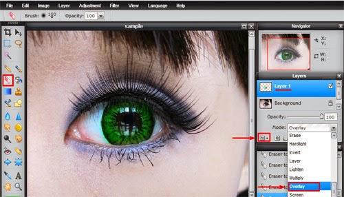 Cara Merubah Warna Mata Online