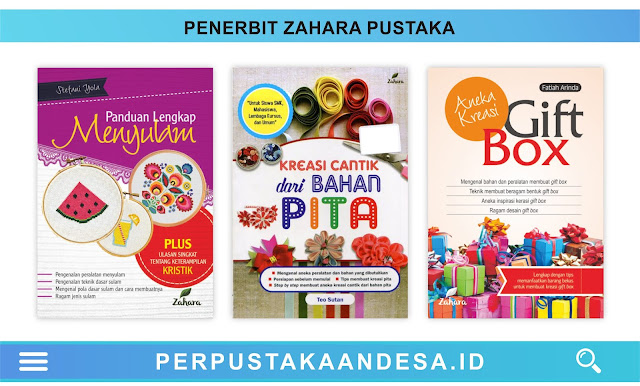 Daftar Judul Buku-Buku Penerbit Zahara Pustaka