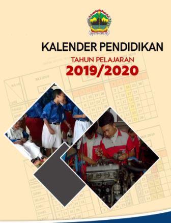Kalender Pendidikan Propinsi Jawa Tengah Tahun 2019/2020