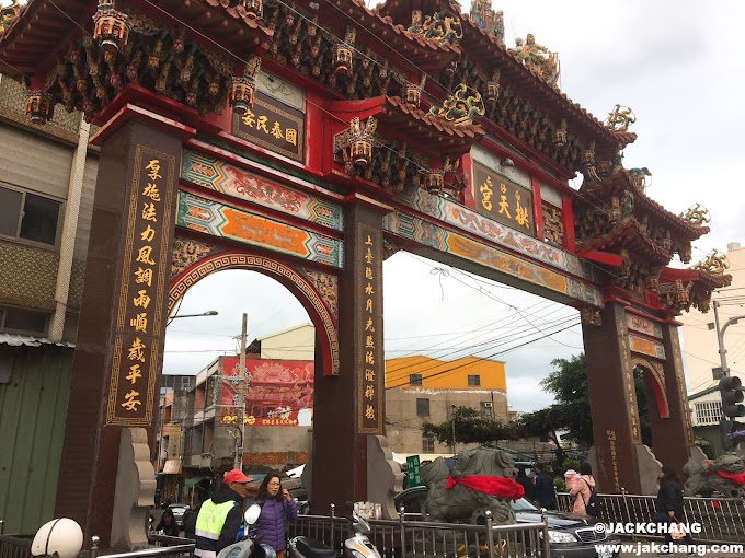 Travel in Miaoli,Tongxiao-Baishatun Gong Tian Temple-Super lively, street food during the holidays