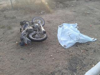 Homem morre vítima de acidente com motocicleta na PB 177 em São Vicente do Seridó