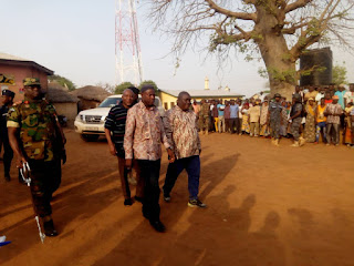 Northern Regional Minister Visits War - Torn Kpatinga On Fact Finding And Peace Mission
