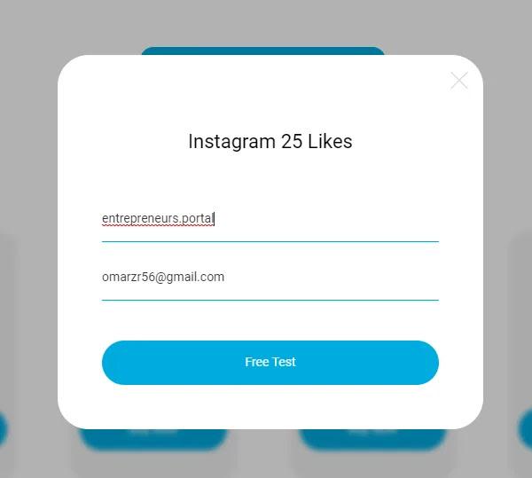 Get 25 free like