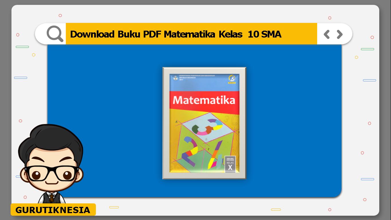 download buku pdf matematika kelas 10 sma/ma