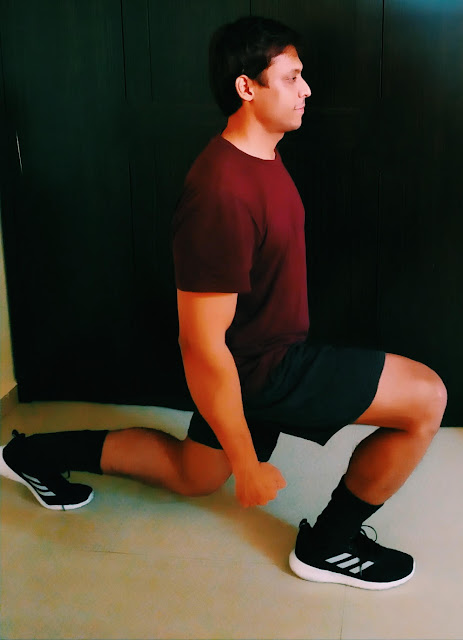 Lunge Exercise Works On Multiple Muscles Group Of Lower Body