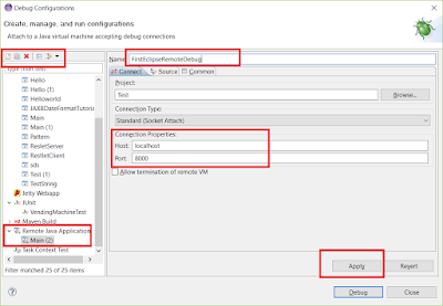 How to setup remote debugging in Eclipse